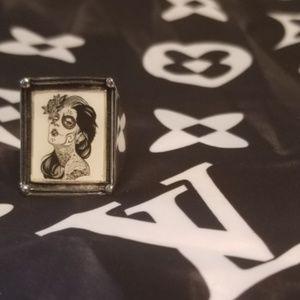 Inox Ring Jewelry Size 8